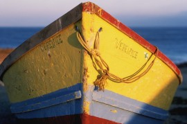 Bow of Colorful Boat